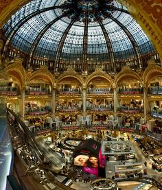 Galerie Lafayette, most amazing department store
