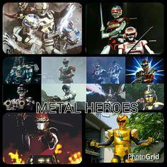 Metal Heroes Grid