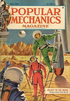 Popular Mechanics Destination Moon Cover by Neato Coolville, via Flickr