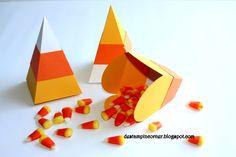 De Stampin' Corner: Candy Corn Box