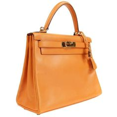 43d9e9b56111 Hermès Box Calf Kelly Bag- 28 Cm Ghw Top Handle Bag