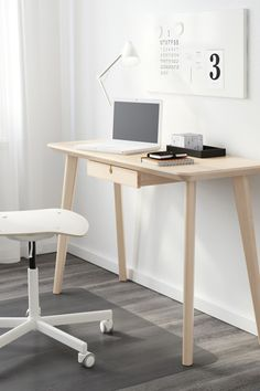 Create A Unique Home Office Or Workspace With The IKEA LISABO Desk! Each  Table Has