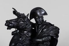 """to) - """"Bonaparte crossing the Great Saint Bernard"""", important patinated bronze sculpture (Reference - Available at Galerie Marc Maison Bronze Sculpture, Lion Sculpture, Punic Wars, Winged Victory, Famous Portraits, Architectural Antiques, Empire Style, Archetypes"""