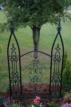 Gothic Garden Decor