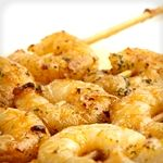 Atkins Popcorn Garlic Shrimp. Only 2.2g Net Carbs.
