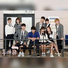 school 2015 who are you korean drama Yook Sungjae, Btob, Korean Drama Movies, Korean Dramas, Who Are You School 2015, Korean Friends, Drama Gif, Kim Sohyun, Drama School