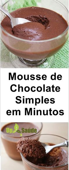 Dessert In A Jar, Portuguese Recipes, Chocolate Desserts, Flan, Sweet Recipes, Meal Planning, Deserts, Food And Drink, Pudding
