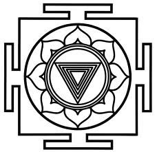 Kali yantra symbol