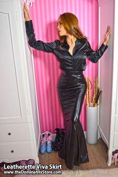 Leatherette Viva Skirt