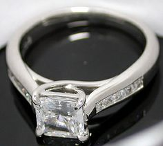 I love the princess cut diamonds.