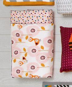 Patternology (Bird) - Cotbed Quilt #mamasandpapas #dreamnursery