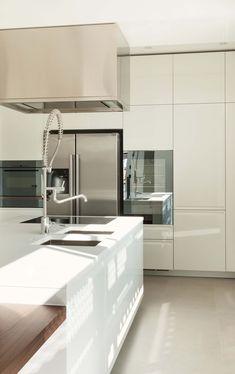 41 White Kitchen Interior Design U0026 Decor Ideas (PICTURES). Natural ...