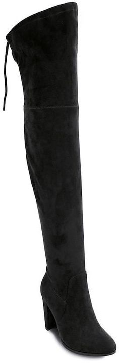 Olivia Miller Roosevelt Women's High Heel Thigh High Boots