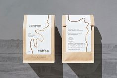 Canyon Coffee — The Dieline - Branding & Packaging Design