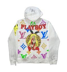 Cute Sweatpants Outfit, Funky Pants, Puff And Pass, Full Zip Hoodie, Hoodies, Sweatshirts, Cute Fashion, Playboy, Zip Ups