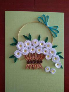 Miniature cards by pinterzsu – Artofit Neli Quilling, Paper Quilling Flowers, Paper Quilling Cards, Paper Quilling Patterns, Quilled Paper Art, Quilling Paper Craft, Paper Crafts, Diy Crafts, Quilling Birthday Cards