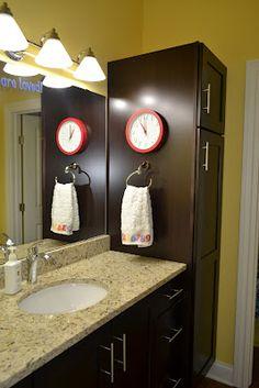 de Jong Dream House: Finished Family Bathroom Tour