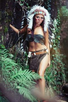 Native american cosplay porn