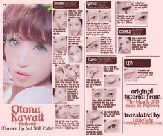 Otona Kawaii Makeup from the March 2013 issue of Popteen