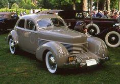 1936 Cord 810 Westchester 4 door