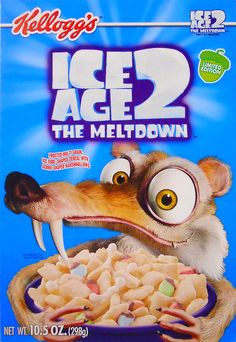 Ice Age 2: The Meltdown Cereal (Kellogg's; 2006)