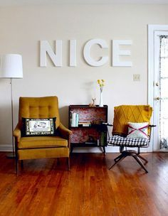 12 Tips for Making Mismatched Furniture Look Chic AF via Brit + Co.