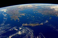 Ετσι φαίνεται η Ελλάδα από το διάστημα -Οι φωτογραφίες της NASA που κόβουν την ανάσα [εικόνες] | iefimerida.gr