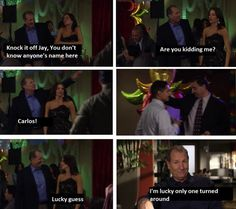 Modern Family's Favorite Scene // tags: funny pictures - funny photos - funny images - funny pics - funny quotes - Modern Family Funny, Modern Family Quotes, Tv Funny, Hilarious, Funny Stuff, Tv Quotes, Movie Quotes, Funny Images, Funny Photos