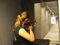 more and more women find shooting guns calming.