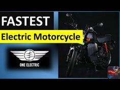 KRIDN   ONE ELECTRIC launches INDIA's Fastest MOTORCYCLE   The premium electric motorcycle - YouTube