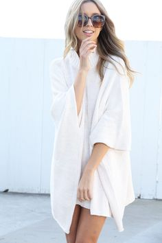 poncho tunic for the fall
