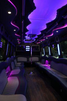 Sir Oliver Limousine -Passenger Party Bus Interior