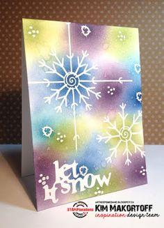 Card by Kim featuring Folk Flowers