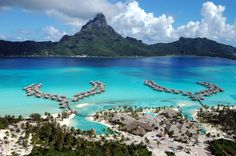 Intercontinental Bora Bora Resort, Polynésie #polynesie #beach