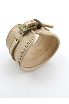 The+Patti+Smith+Effect+-+Natural+-+$80.90+from+Republic+of+You leather cuff - buckle strap
