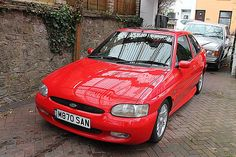 Looking for a Ford Escort Rs 2000 , 1995 , Red? This one is on eBay.