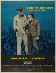 Midnight Cowboy (John Schlesinger, 1969) French design by Jouineau Bourduge