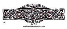 Celtic armband 2 by shepush