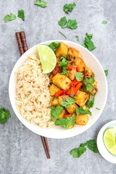 thai red curry tofu