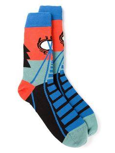 Henrik Vibskov Eyeball Socks - Henrik Vibskov Boutique - Farfetch.com