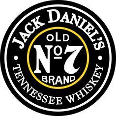 "Jack Daniel's Old No. 7 Round 24"" Metal Sign"