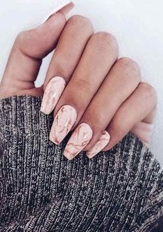 Long Acrylic Nail Arts for Women