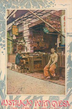 1923 - Ilustração Portuguesa  Chines merchant