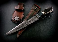 Bowie Winchester Inspiration | CAS Knives - cuchillos artesanales