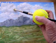 Do soft grip brushes help with arthritis/carpal tunnel? - Wet Canvas put pencil through for kids with special needs
