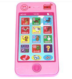 Russo/Arabo/Inglese/Francese lingua educativi Per Bambini simulazione musica telefono mobile Del Bambino del Giocattolo