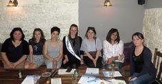 Global Gals share their experiences at an event in Prague, Czech Republic.