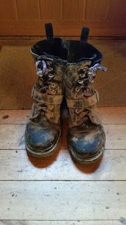 Muddy Boots, or Setting My Feet on the Path Before Them