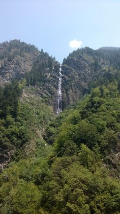 Kaksen Waterfall,Bharmour, Himachal Pradesh