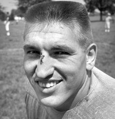 Johnny Unitas-Played Quarterback for the Baltimore Colts but was inducted into the BALTIMORE RAVENS Ring of Honor in 2002